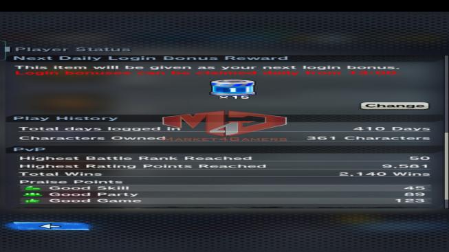 DBL80 Lv225 – 4.1M Power – 14 Legend Finish – 196 Sparking – 32 Awakening – 1731 CC