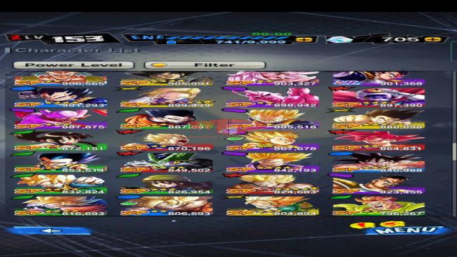 DBL75 Lv153 – 3.7M Power – 13 Legend Finish – 173 Sparking – 13 Awakening – 705 CC