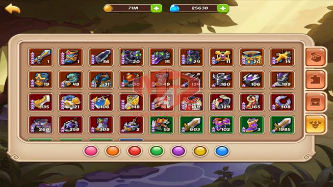 [SOLD]iOS – Lv332 – S59 – Vip 13 – 1 Void Hero Halora-23 Heroes E5 +1E3 – 6M9 Power – 39 Skins