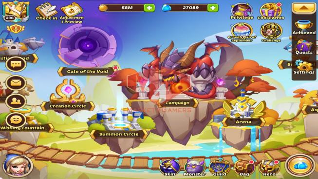IOS – Lv236 – S1281 – VIP8 – 3 Void Heroes Halora , Xia , Vesa – 14 Heroes E5 – 30 Skins – 23M Power