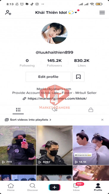 ✅ Account 141.0k Followers – 789.0k Likes – Entertainment Channel – Turn On Live Stream
