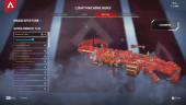 Lv85 – Heirloom Kunai – 9 Legendary – Hunter's Moon – Blood Ritual – R-99 Outlands Avalanche – Demon's Claw – 1045MC