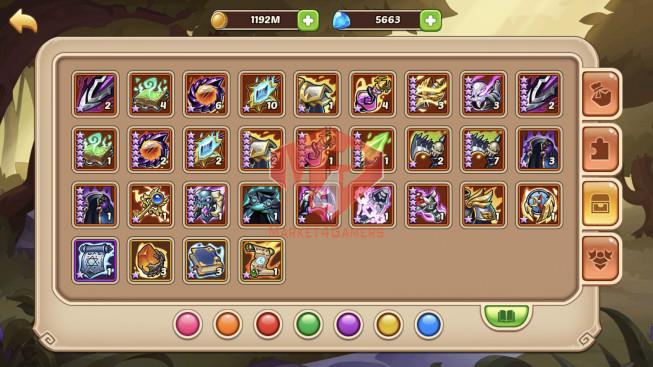 iOS – Lv345 – S24 – Vip 11 – 1Void Hero – 17 Heroes E5 – 7M5 Power – 29 Skins