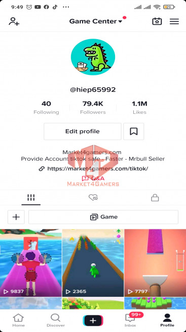 ✅ Account Top Most Viewed USA 79.4k Followers – 1.1M Likes– Gaming Channel