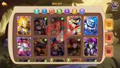 Android – Lv264 – S76 – VIP 7 – 3 Void Heroes Halora , Xia , Vesa – 13 Heroes E5 + 1E1 – 20 Skins – 23M Power