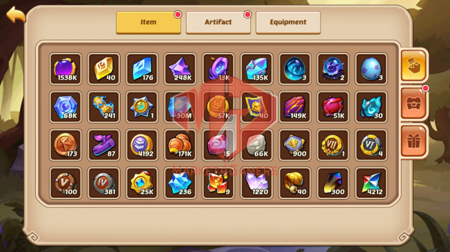 Android – Lv158 – S869 – VIP 0 – 1 Void Heroes Vesa – 6 Heroes E5 + 1E3 – 18 Skins – 8M Power