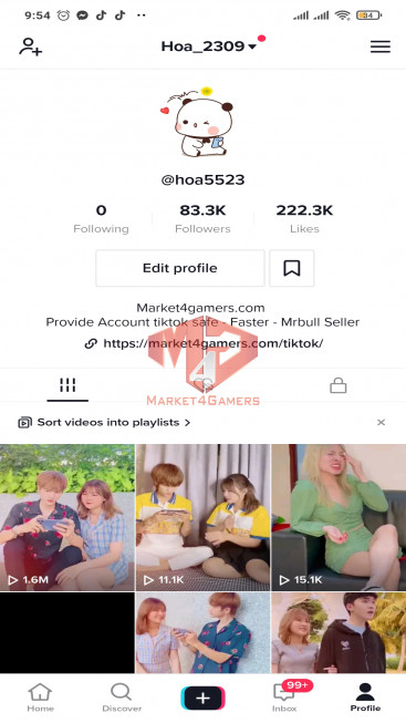 ✅ Account 82.5K Followers – 218.2K Likes – Entertainment Channel – Turn On Live Stream