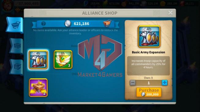 Account 57M ** Vip 14 ** Maxed 5 Commanders Archer ** Farm Account
