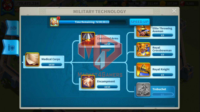 Account 70M T5 ** Vip 14 ** Maxed 3 Commanders ** 5 Farm Account