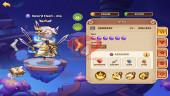 iOS – Lv277 – S50 – Vip 5 – 1 Void Heroes – 10 Heroes E5 +3E2 – 7m2 Power – 19 Skins
