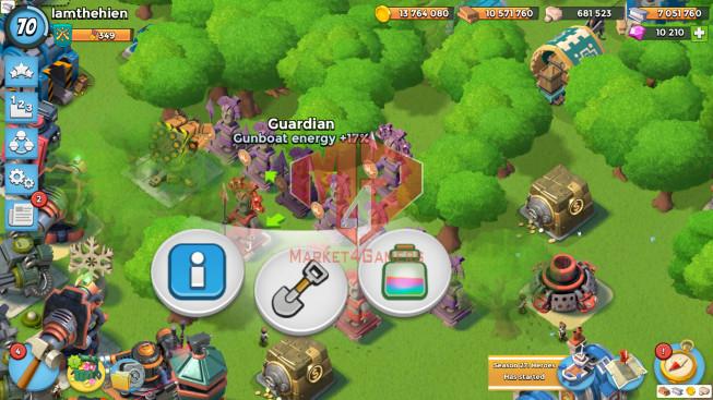 Account LV 70I HQ 25I 10k Gems I Power Powder 1204