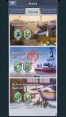 lv 73- 500dd – VIP 6 – s811 – nimitz lv 100 –