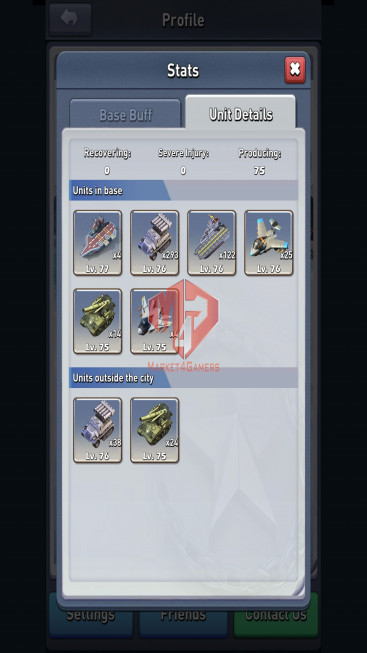 lv 76 – 4.6ee – VIP 5 – s760 – nimitz lv 100 –