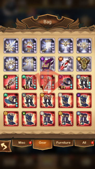 [SOLD]AFK 120M Vip 10 S140 34 Heroes Ascended