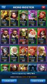 Android Lv67, Best account – Team Power 4725 – 20 Heros Lv80, Troop Lv22 – Lv23