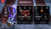 Lv377-2 Heirloom Kunai and Axe – Full Skins Anniversary Limited – 75 Legend – Full BP S5-6 Unlock S8