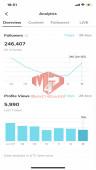 ✅ Account Verified 247.2K Followers – 814.7K Likes
