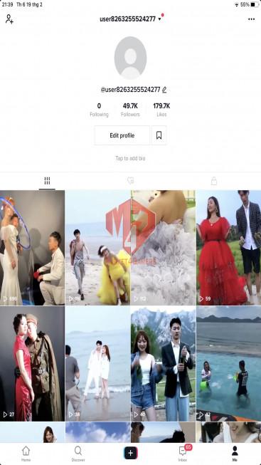 ✅ Account Verified 49.7k Follow – 179.7K Likes