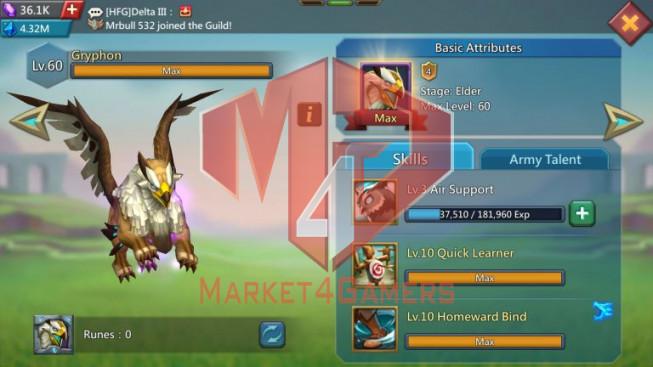 [ Super Sale Off ] Account 911M- Good War & Hunter Gear – P2p Heros Storm Fox & Watcher – Too Much Speed up – 769$