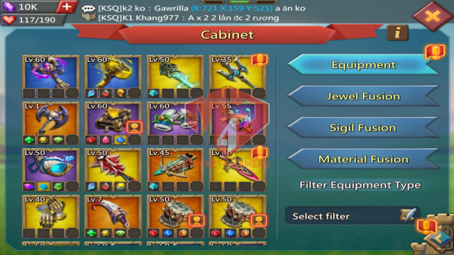 [ Super Sale Off ] Account 920M – 2 Castle Skin – 346M Research – Watcher Gold – Gift Unblocked – 719$