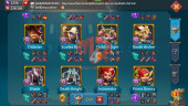 [ Super Sale Off ] Account 394M – 181M Research – 125K Gems – Alots Rss + Items – 249$