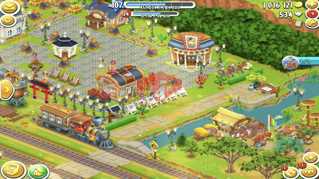 [SuperCell ID]–Account lv107 –barn storage 5100 –silo storage 3950 — 534 Diamond — Tackle 115 — Train Lv19