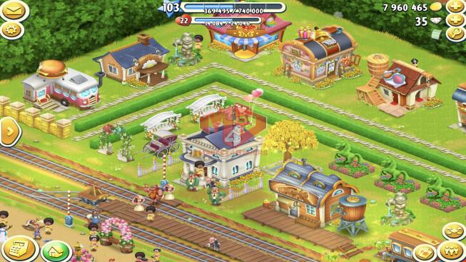 [SuperCell ID]–Account lv103 –barn storage 4600 –silo storage 5050 — Tackle 70 — Train Lv18