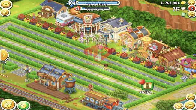 [SOLD]-[SuperCell ID]–Account lv104 –barn storage 3750 –silo storage 3800 — 217 Diamond — Tackle 45 — Train Lv9