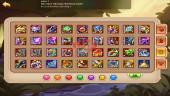 iOS – Lv290 – S55 – Vip 7 – 1 Void Heroes Halora – 14 Heroes E5 – 6M1 Power – 16 Skins