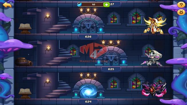 iOS – Lv184 – S18 – Vip 4 – 6 Heroes E5 – 5M1 Power – 13 Skins