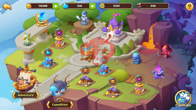 Android – lv 320- vip 8 – s16 – 1 HeroVoid HALORA – 15 Heroes E5 – 9M POWER – 31 SKINS