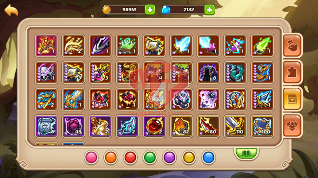 Android – lv 276 – vip 4 – 1 HeroVoid HALORA – 11 Heroes E5 – 7M5 POWER – 44 SKINS