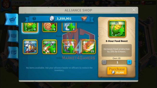 SOLD Account 30M Power ** Maxed Alex, Aethef ** 2 Farm Account ** 3M3 Credits