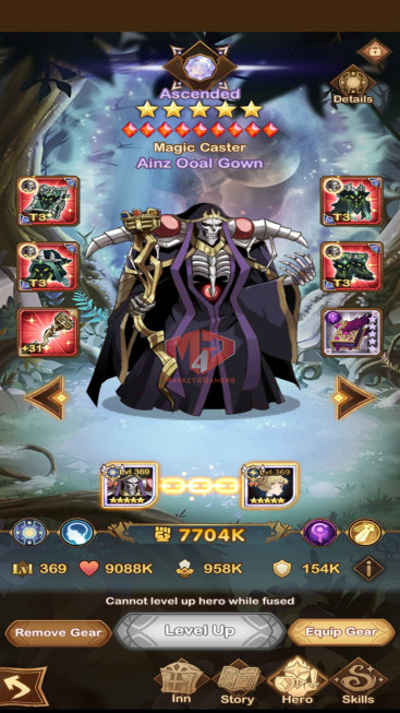 AFK 263M — VIP 10 — s445 — 30 HEROES ASCENDED