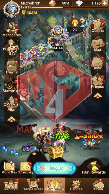[Whale Account]–404M– VIP 10 –s390 — 41 HEROES ASCENDED