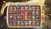 iOS – LV 258 – S108 – Vip 8 – 1 Void Heroes Halora – 11 Heroes E5 + 1e3 – 17 Skin–7M Power
