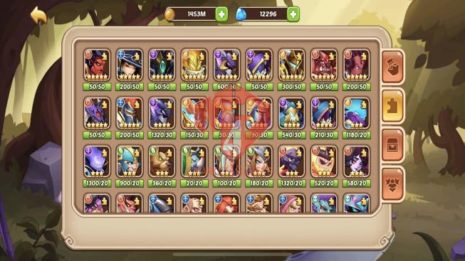 iOS – LV 257 – S61 – Vip 3 – 8 Heroes E5- 18 Skin–3M9 Power