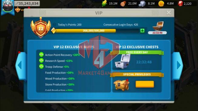 Account 35M Power ** Maxed Khan, Aethef ** 3M6 Credits ** Farm Account