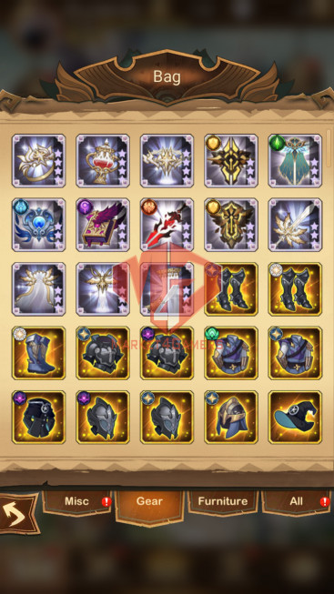 [ SOLD].AFK 73M –VIP 9–s675 –24 Heroes Ascended