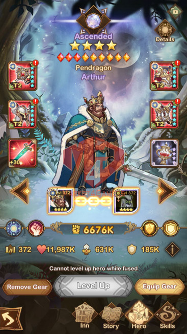 AFK 280M –VIP 10–s474 –38 Heroes Ascended