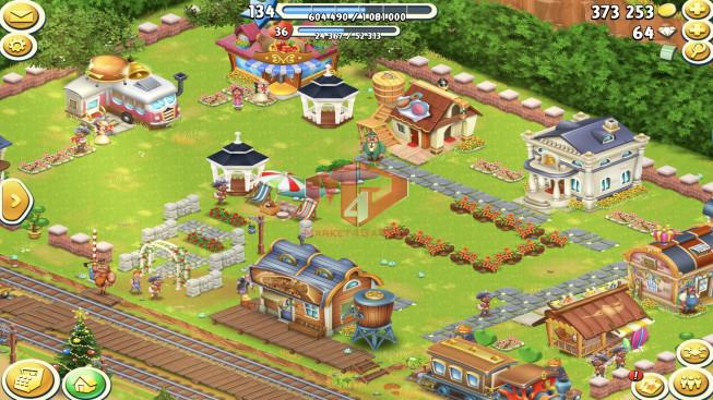 [SuperCell ID]–Account lv134 –barn storage 5900 –silo storage 5300 — Tackle 80 — Train Lv9