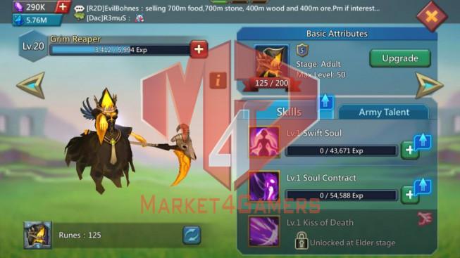 [ Super Sale Off ] Account 889M – 373M Research – 288K Gems – Watcher Gold – 449$