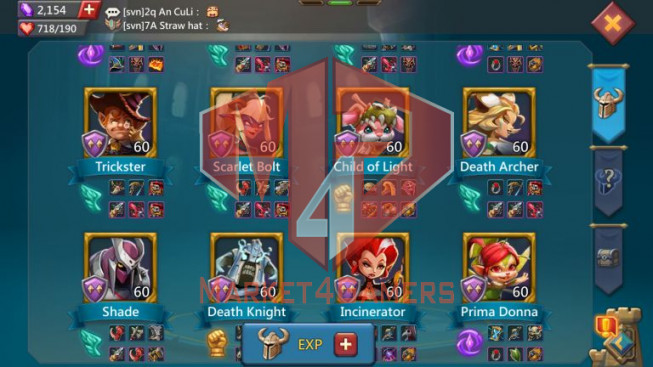[ Super Sale Off ] Account 635M – 198M Research – Pact 4 + 5 Great – Castle Skin SS Wyvern – 349$