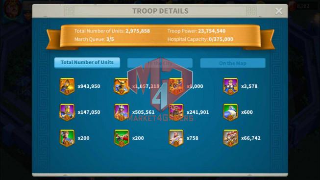 Account 72M Power ** Maxed 4 Commanders ** 14M4 Credits ** 2 Farm Accounts