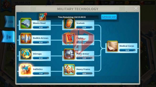 Account 46M Power ** Near T5 ** Maxed 3 Commanders