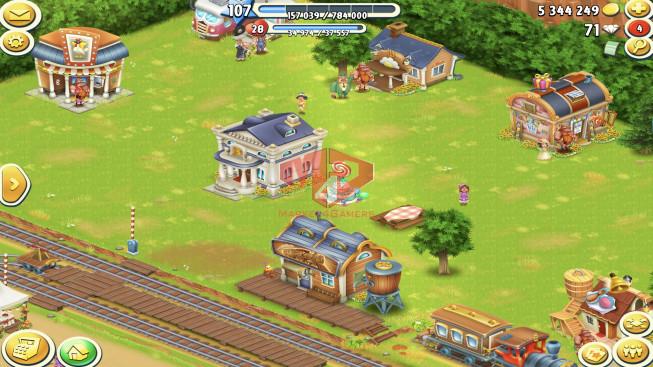 [SuperCell ID]–Account Lv107 — Barn Storage 3050 — Silo Storage 3100 — Tackle 50 — Train Lv5