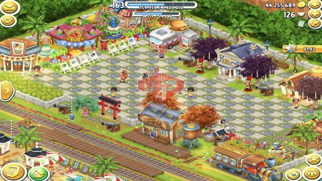 [SuperCell ID]–Account lv163 — Barn Storage 8250 — Silo Storage 7550 — 126 Diamond — Tackle 200 — Train Lv19