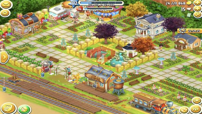 [SuperCell ID]–Account Lv112 — Barn Storage 6000 — Silo Storage 3200 — Tackle 75 — Train Lv15
