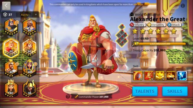 Account 36M Power ** Maxed Alex, Aethef ** Farm Account ** 33K Gems