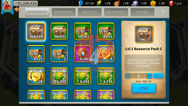SOLD Whale Account 81M Power ** Maxed 12 Commanders ** Farm Account